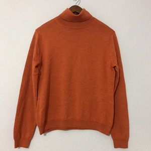 Brooks Brothers wool, cashmere, silk turtleneck